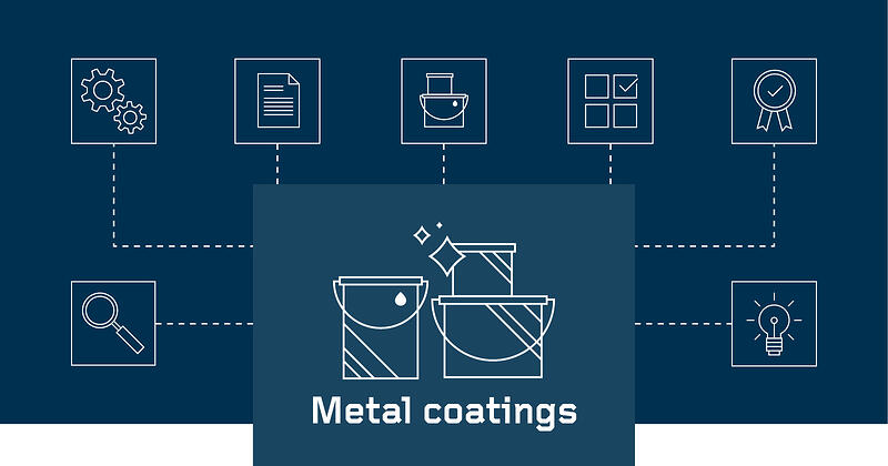 What are metal coatings?