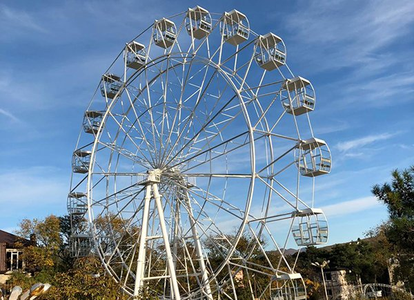 Taking a Ferris wheel project to new heights