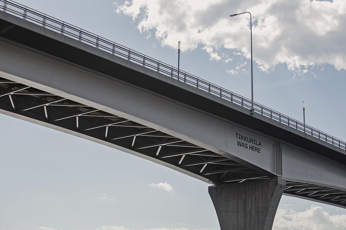 Durable coating for Jännevirta bridge